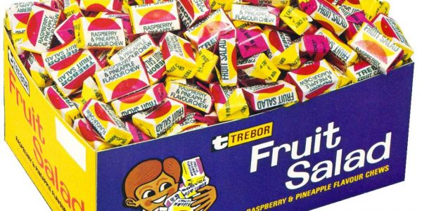 Anyone growing up in 1970s Britain can probably remember the pineapple and raspberry sweetness of Fruit Salad. In 2003 the firm's new owners Cadbury declared that both Fruit Salad and Black Jacks were out of favour with the public – so the Chesterfield factory, where they were then produced, was closed. Today both products are available through the Barratt brand, bought from Cadbury by Tangerine Confectionery.
